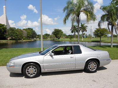 Cadillac : Eldorado FLORIDA RUST FREE! 54K MILES AND SERVICED! 2001 florida cadillac eldorado esc 54 k miles and rust free great records