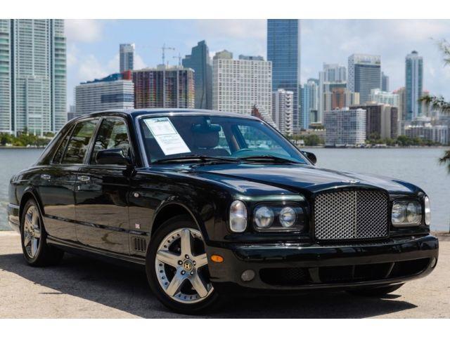 Bentley : Arnage T24 T 6.75L NAV CD 8 Speakers AM/FM radio AM/FM Stereo w/CD/6-Disc Changer Spoiler