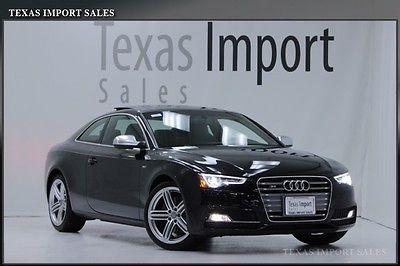 Audi : S5 COUPE 6-SPEED,PREMIUM PLUS,BANG/OLUFSEN,NAV. 2013 s 5 coupe 6 speed manual premium plus 22 k miles bang olufsen warranty
