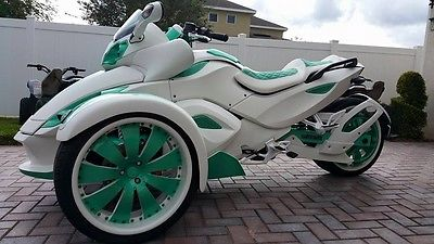 Can Am Spyder Motorcycles For Sale In Orlando Florida