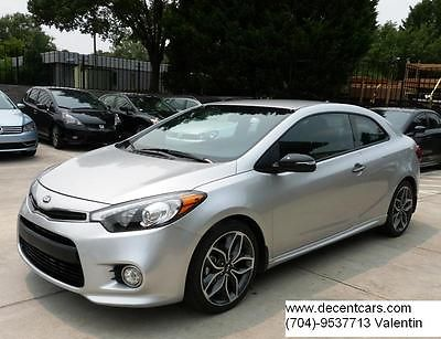 Kia : Other SX KOUP 1.6 TURBO  2015 kia forte koup sx coupe 1.6 l turbo 12 k mls 18 inch wheels smart key led