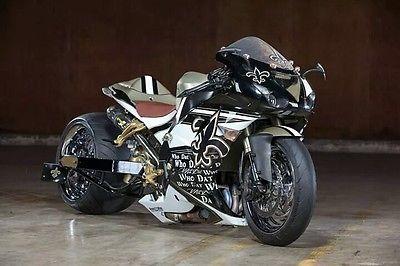 Kawasaki : Ninja 2007 kawasaki ninja zx 10 r new orleans saints bike
