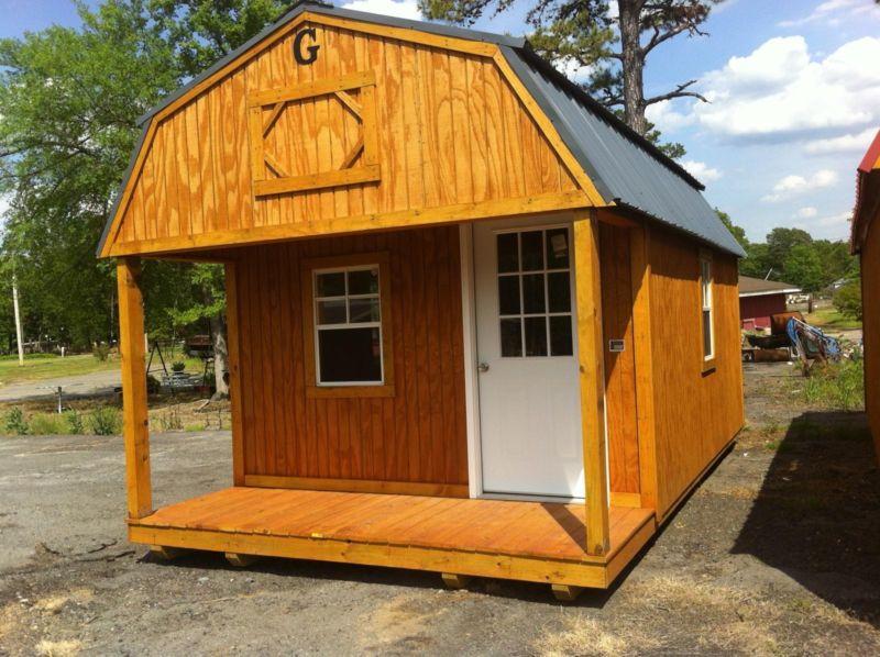 Cabin Lofted Barn12x24