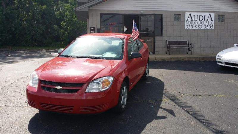 2007 CHEVROLET COBALT COUPE LS RED 5