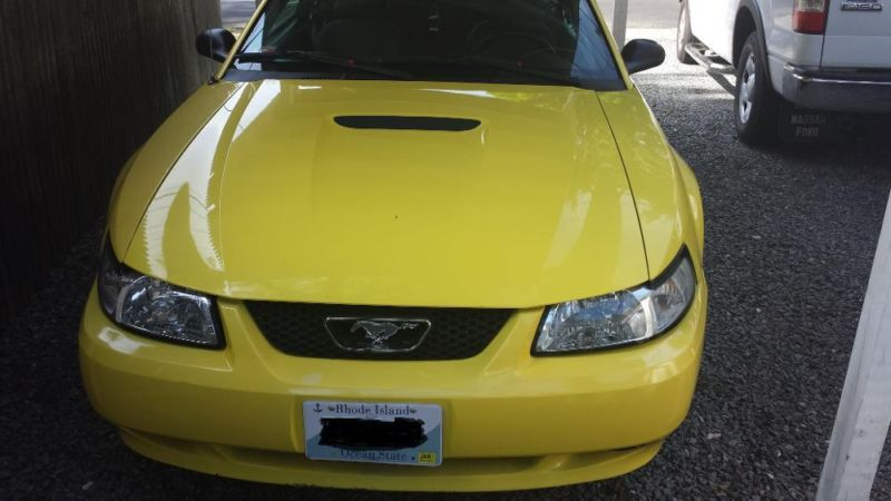 2002 Ford Mustang Base Coupe 2 Door 3.8L