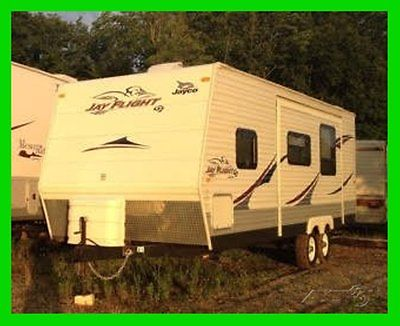 2009 Jayco Jay Flight G2 26BHS 28' Travel Trailer Slide Out Awning Furnace TV