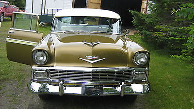 Chevrolet : Bel Air/150/210 4 DOOR SEDAN 1956 chevrolet belair