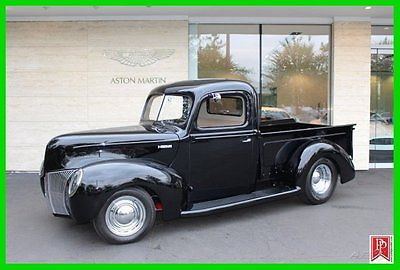 Ford : Other Pickups 1940 ford pickup custom hemi conversion resto mod exceptional powerful
