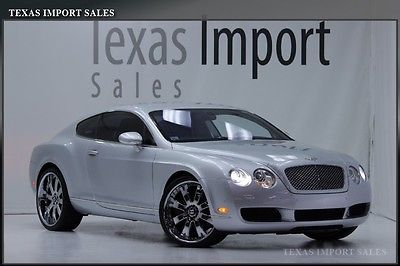 Bentley : Continental GT GT COUPE,UPGRADED CHROME WHEELS 2004 continental gt coupe w 12 22 inch chrome wheels sharp