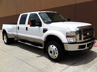 Ford F450 lariat crew cab 4x4 dually 64l diesel navi 1owner cars for