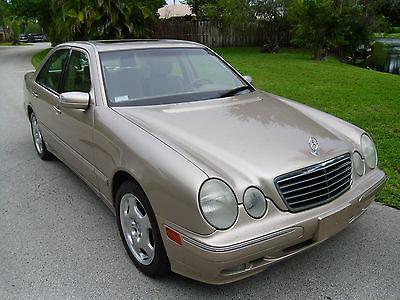Mercedes-Benz : E-Class E430 2001 mercedes benz e 430 florida car low miles mint condition