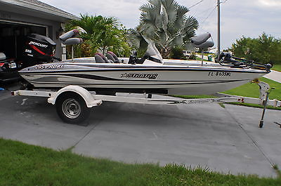 2004 19 Feet  Stratos 285 Pro XL Bass Boat Only 290 Hours on Engine