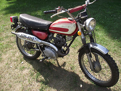 Honda : CL 1974 honda cl 125 cc motorcycle