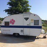 Canned Ham 62 Mobile Scout vintage travel trailer