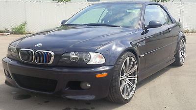 BMW : M3 E46 2004 bmw m 3 convertible smg