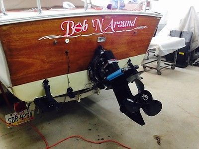 1968 21 feet skiff craft