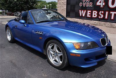 BMW : 3-Series M  Roadster 1998 bmw m roadster 3.2 l convertible leather heated seats 6 disc cd clean z 3