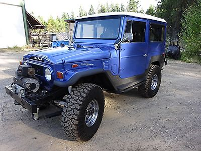Toyota : Land Cruiser FJ40 w/ V8, ARB lockers, 4