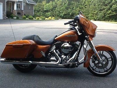 Harley-Davidson : Touring 2014 hd harley davidson street glide special amber whiskey