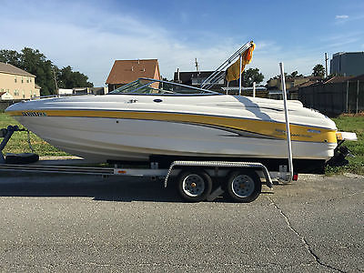 Chaparral 21' ft Boat w/ Loadmaster Trailer, Tube, Gear & much more!!