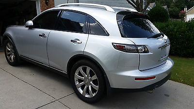 Infiniti : FX AWD 4dr Salvage Rebuildable 2007 Infinity FX35 Bckp Camera 115K
