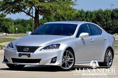 Lexus : IS F-Sport Navigation IS250 F-Sport! Navigation! 1Owner! Warranty! Super Clean! Below KBB! We Finance!