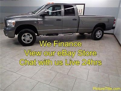 Dodge : Ram 3500 Laramie Leather 4WD Quad Cummins Diesel 07 ram 3500 laramie 4 x 4 leather cummins diesel we finance texas