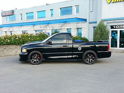 Dodge : Ram 1500 SRT-10 2005 dodge ram 1500 srt 10 standard cab pickup 2 door 8.3 l
