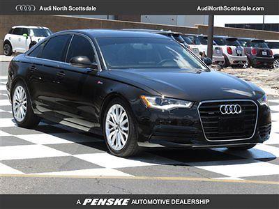 Audi : A6 Premium Plus 3.0 Quattro Navigation Used 2012 Audi A6 AWD Navigation V6 Bluetooth Heated Black Leather Ipod Sirius