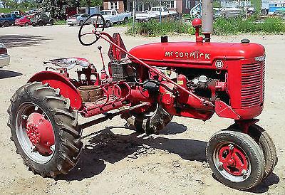 Mccormick International Farmall tractor B series