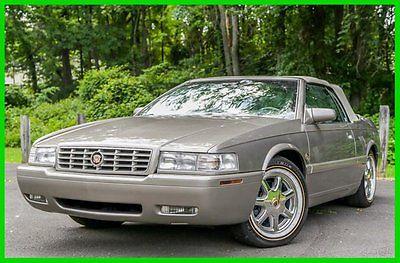 Cadillac : Eldorado ETC 2001 cadillac eldorado etc convertible coach builders super low 41 k mi carfax