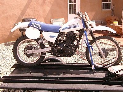 Suzuki : DR 1981 suzuki dr 500 motorcycle restored for vintage motocross very nice