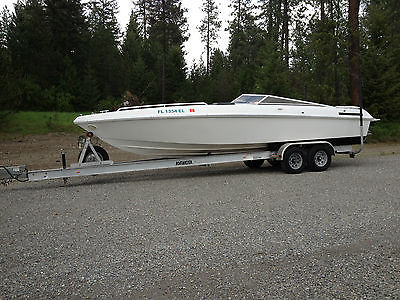 Wellcraft Excalibur 27' Speedster 502 MPI Boatmaster alum trailer offshore NICE