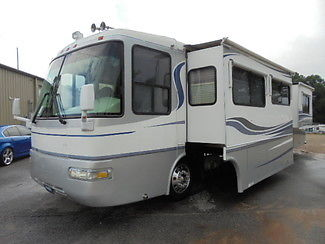 4 slide 370hp Rexhall Diesel Motorhome Nice RV Fireplace Traded Not Monaco repo