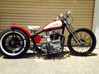 Indian : 750 INTERCEPTOR INDIAN ENFIELD 1964 enfield indian 750 cc motorcycle stunning vintage bobber chopper