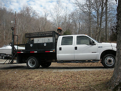 Ford : Other Pickups XL Cab & Chassis 4-Door 2004 ford f 550 service truck with lift gate very good condition ready to work