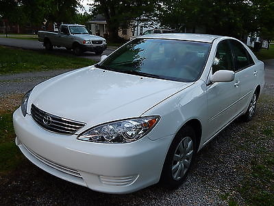 Toyota : Camry LE Sedan 4-Door 2006 white toyota camry le sedan 2.4 l auto new tires battery 4995 obo