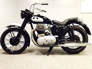 Indian : INDIAN ENFIELD 1957 rare enfield indian apache motor turns needs mechanical elec resto