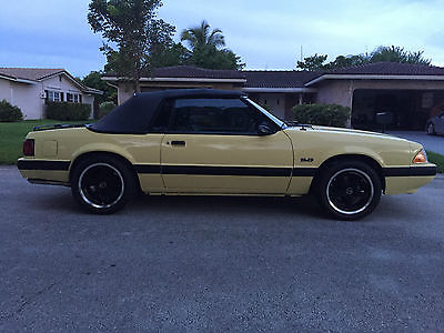 Ford : Mustang LX 1988 ford mustang lx convertible 2 door 5.0 l