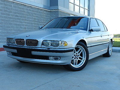 BMW : 7-Series 7 Series M Pakage Well Maintained Accident Free 2001 bmw 740 i m package 4.4 l v 8 accident free sunroof leather navigation