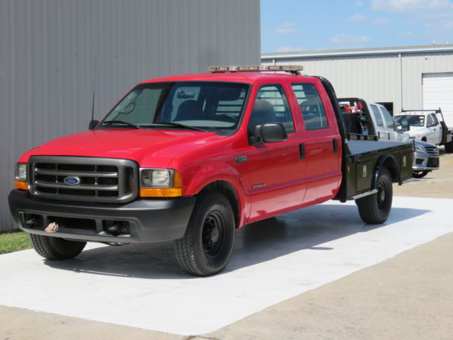 Ford : F-250 7.3L 58K 00 f 250 xl 7.3 l powerstroke turbo diesel crew cm bed only 58 k 1 owner carfax tx