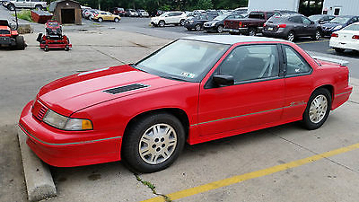 Chevrolet : Lumina Red with Gray Trim 1992 chevy lumina z 24