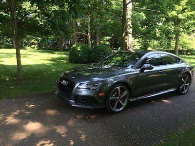 Audi : Other 4.0T Prestige 2014 audi rs 7 4.0 t prestige sedan 4 l v 8 32 v automatic 700 hp 4024 miles turbo
