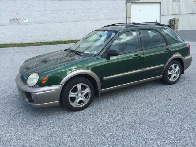 Subaru : Impreza 5dr Wgn Outb 2003 subaru outback impreza wagon awd non smoker inspected