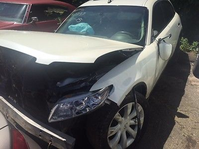 Infiniti : FX FX 35 2003 infiniti fx 35 fx 35 white awd recovered theft clean title best offer