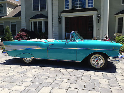 Chevrolet : Bel Air/150/210 Convertible 2-Door 1957 chevrolet bel air convertible