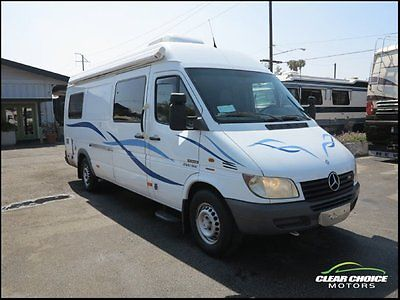 BUY IT NOW 2002 SPORTSMOBILE 23 MERCEDES SPRINTER DIESEL CAMPER VAN