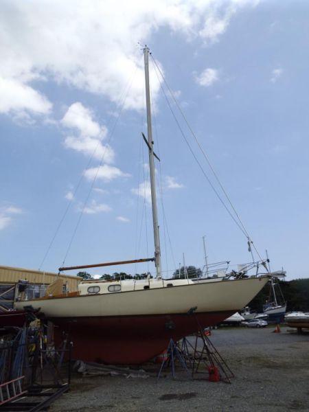 1963 Pearson Alberg 35 Sailboat Fully Restored Rebuilt Yanmar Diesel!
