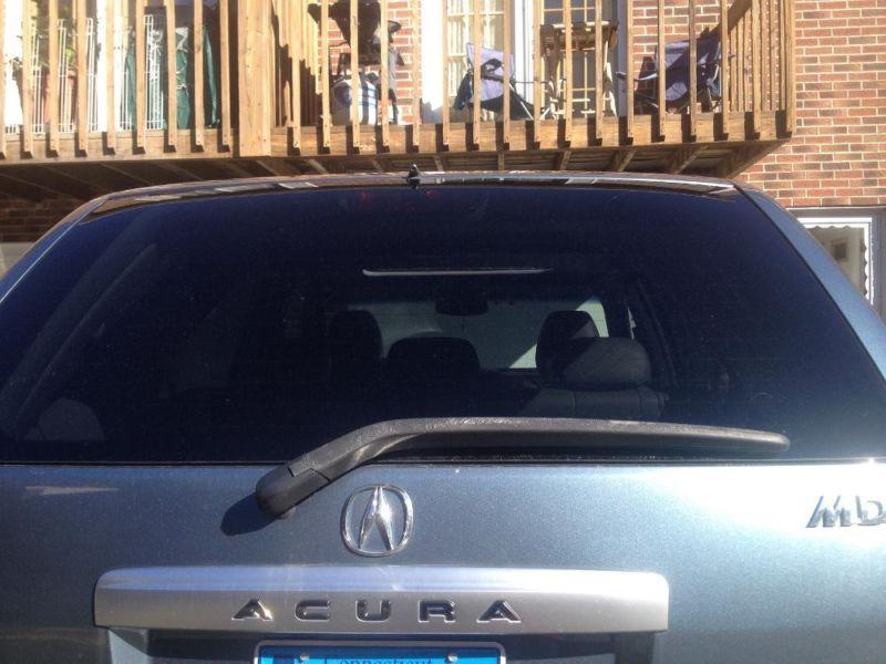 2005 Acura MDX  light blue