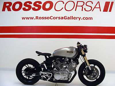 Yamaha : Virago ONE OF A KIND Custom Build 1982 Yamaha Virago 750 Cafe Racer